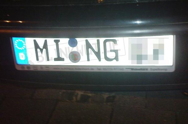 ming ... fährt sicherlich immer vorsichtig, damit die Vase nicht zerstört wird :)